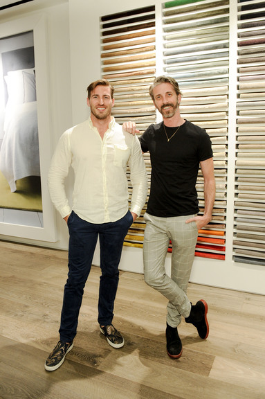 Mat Sanders And David Groene At The Rug Company And Farrow U0026 Ball Launch  Dinner, Los Angeles